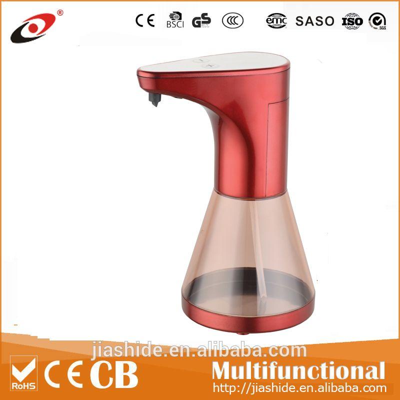 Fashionable standing auto hand sanitizer dispenser plastic