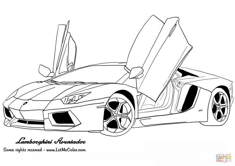Ausmalbilder Coole Autos - CosmixProject Cars