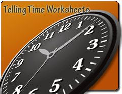 Telling Time Worksheets-This Free Telling Time Worksheet maker will generate a worksheet using your customizations