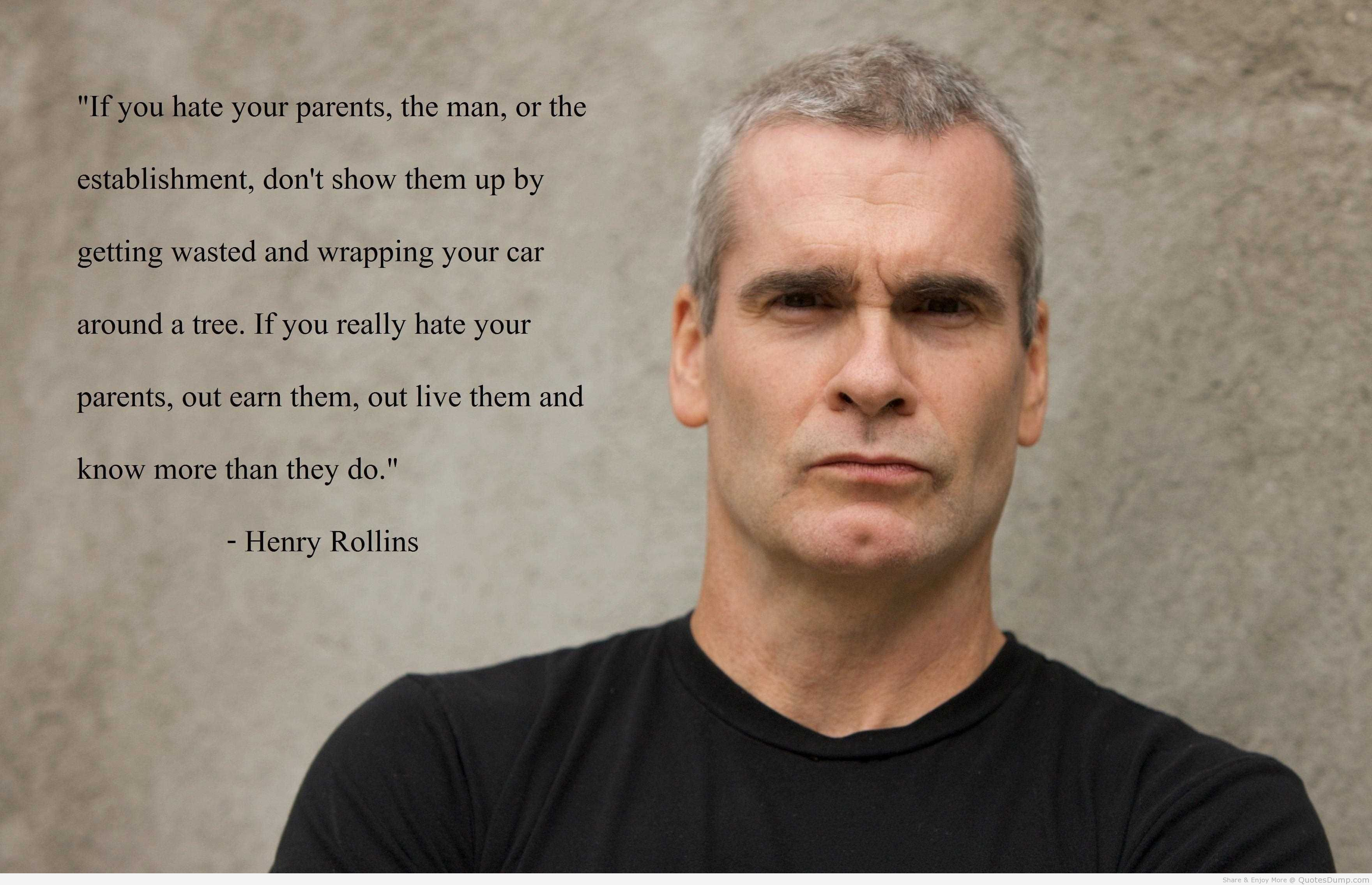 henry rollins tattoo meaning