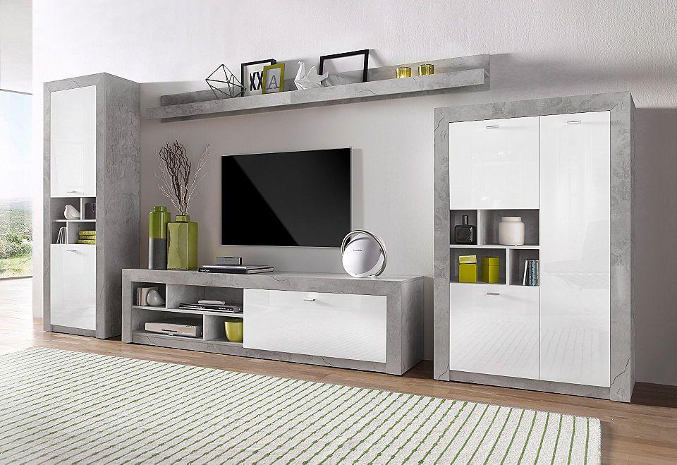 Wohnwand (5-tlg) Jetzt bestellen unter https\/\/moebel - wohnzimmer tv möbel
