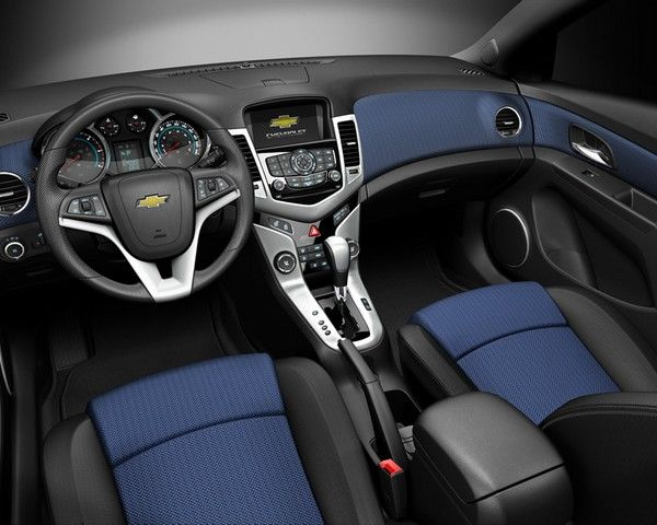 chevy cruze with the black and blue interior - Google Search | Goals ...