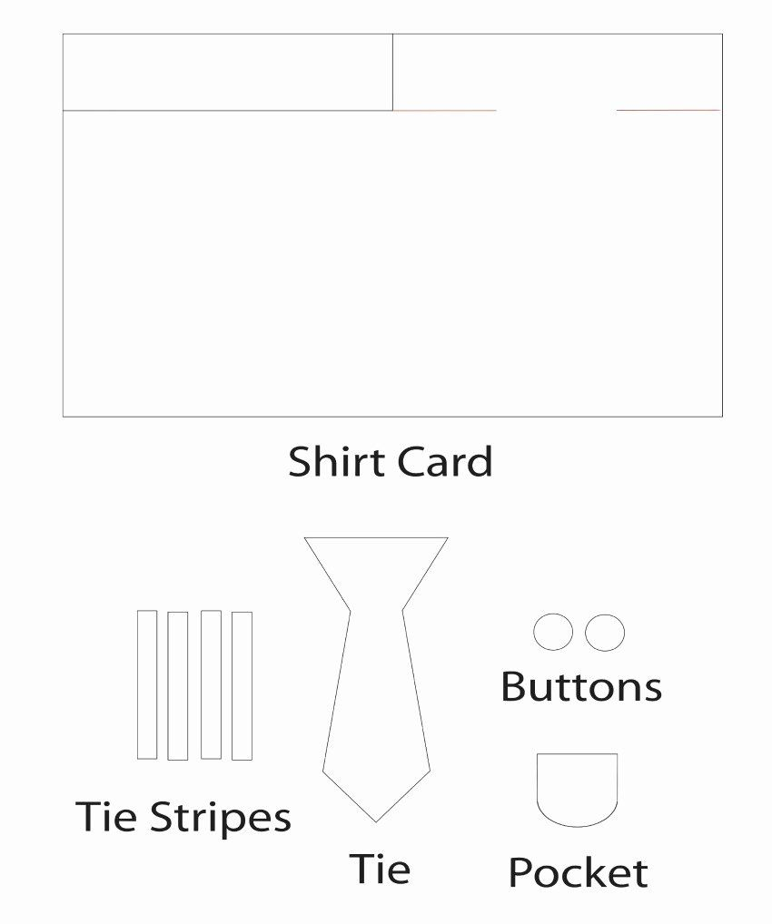 Fathers Day Card Template Free Lovely Father S Day Shirt Card Craft Superdadgifts19 Mom Does Father S Day Card Template Card Templates Free Card Template