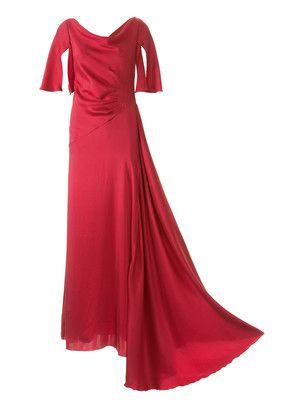 burda style, Schnittmuster Abendkleid - Fließende Robe mit ...