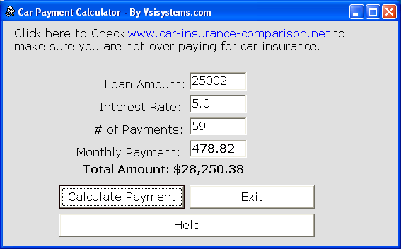 Car Payment Calculator Buddy 2 1 Free Tool To Check Car Payments