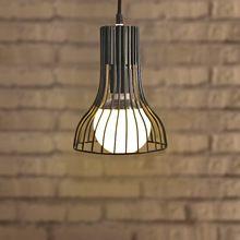 Nordic Industrial Iron Pendant Light E27 Bulb Vintage Hanging Light Bar Cafe Living Room Restaurant Wrought Iron Loft Lamps(China (Mainland))