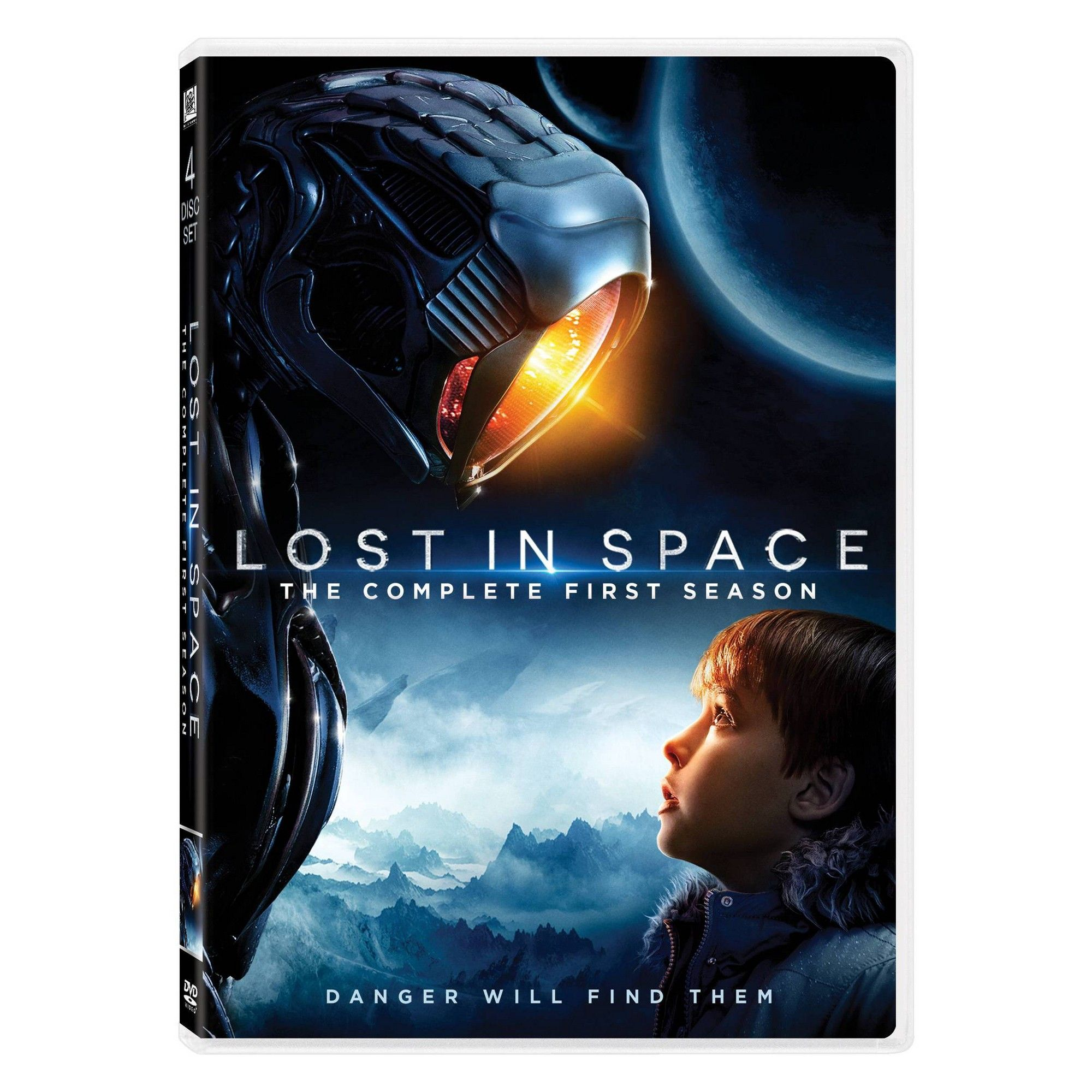 Lost In Space 2018 Dvd In 2021 Lost In Space Space Tv Series Space Poster