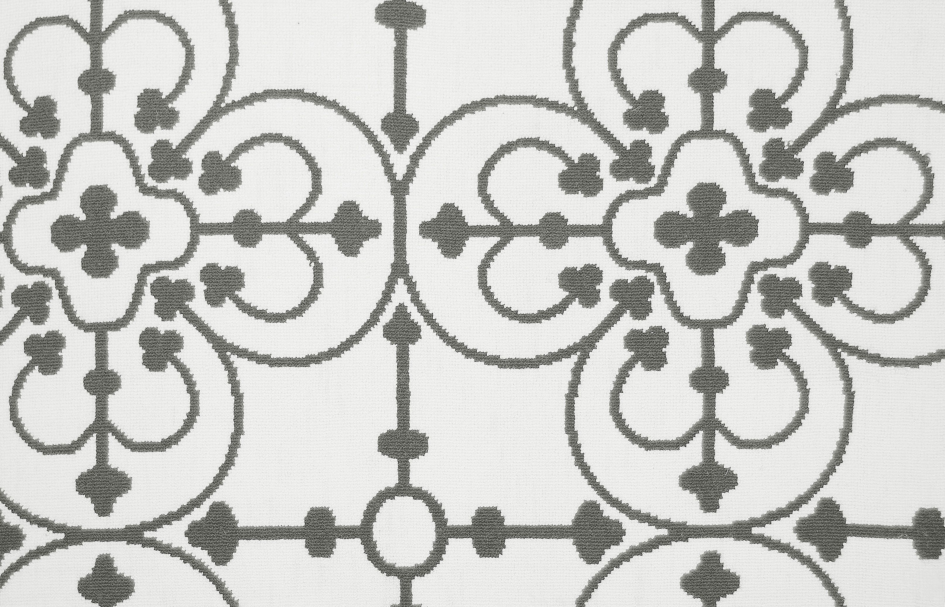 Iron work boucle collection stark carpet floral