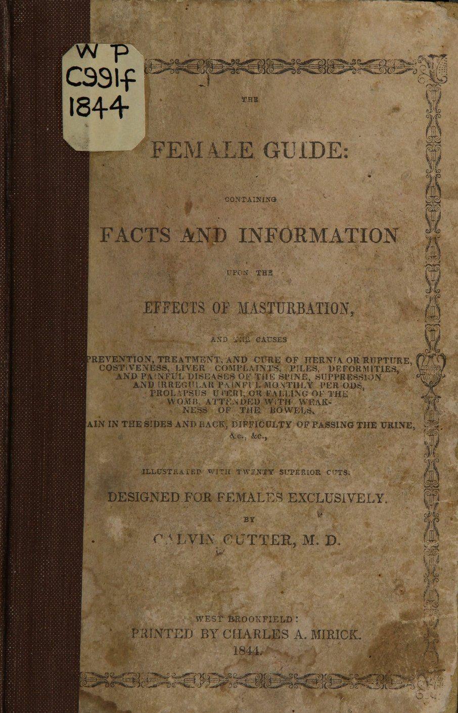 Female masturbation of History