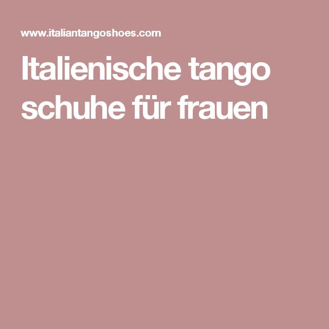 Italienische tango schuhe für frauen