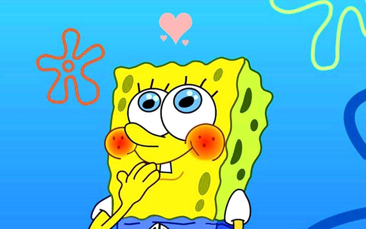 Spongebob Squarepants Cartoon Hd Wallpaper For Pc Cartoons pertaining to The Awe...