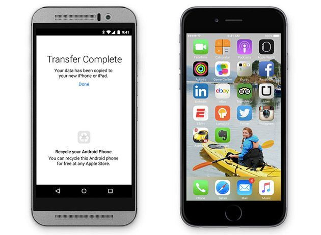 Apple's 'Move to iOS' app makes it easy to switch from