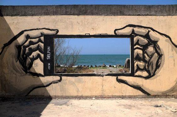 Straßenkunst - Künstler #graffitiart