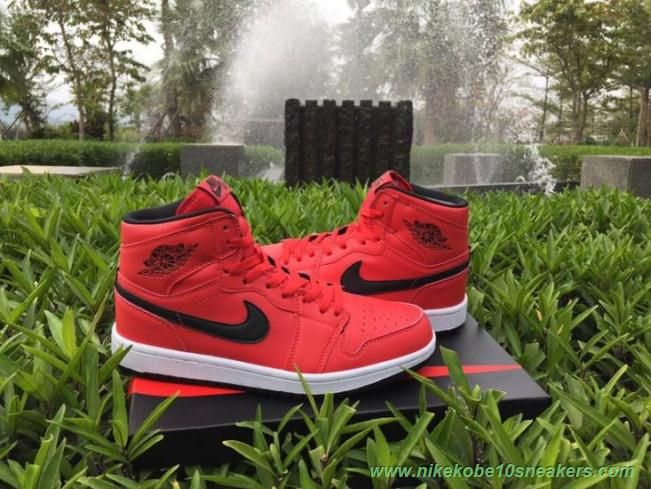 separation shoes cdf79 9f562 Authentic 332134-631 Red dark army-white AIR JORDAN 1 RETRO High HI PREMIER