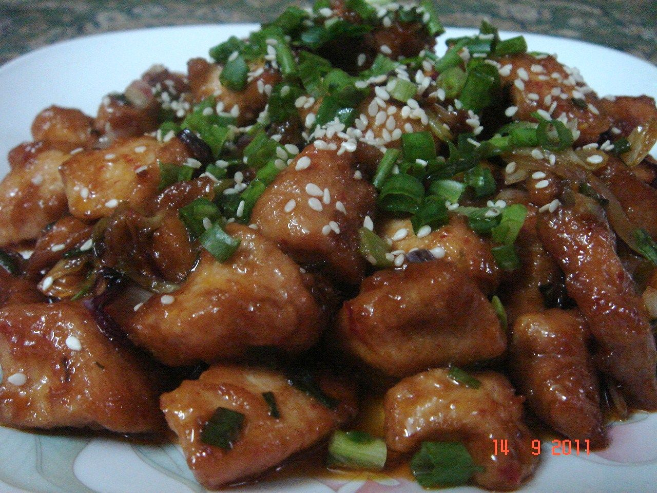 HOT n' SPICY HONEY CHICKEN