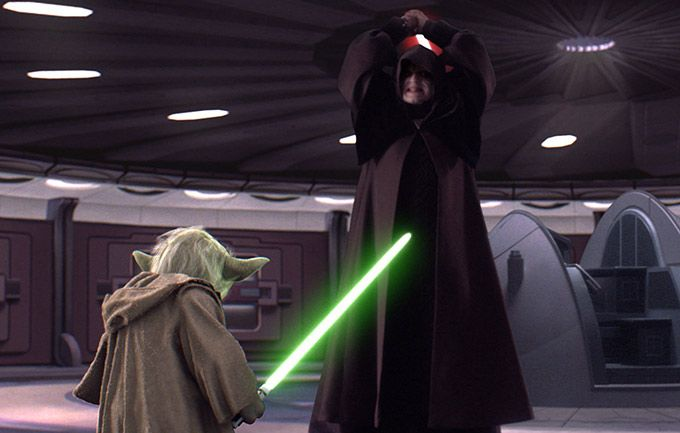 Darth Sidious Vs Mace Windu Google Search Star Wars History Star Wars Images Star Wars Yoda