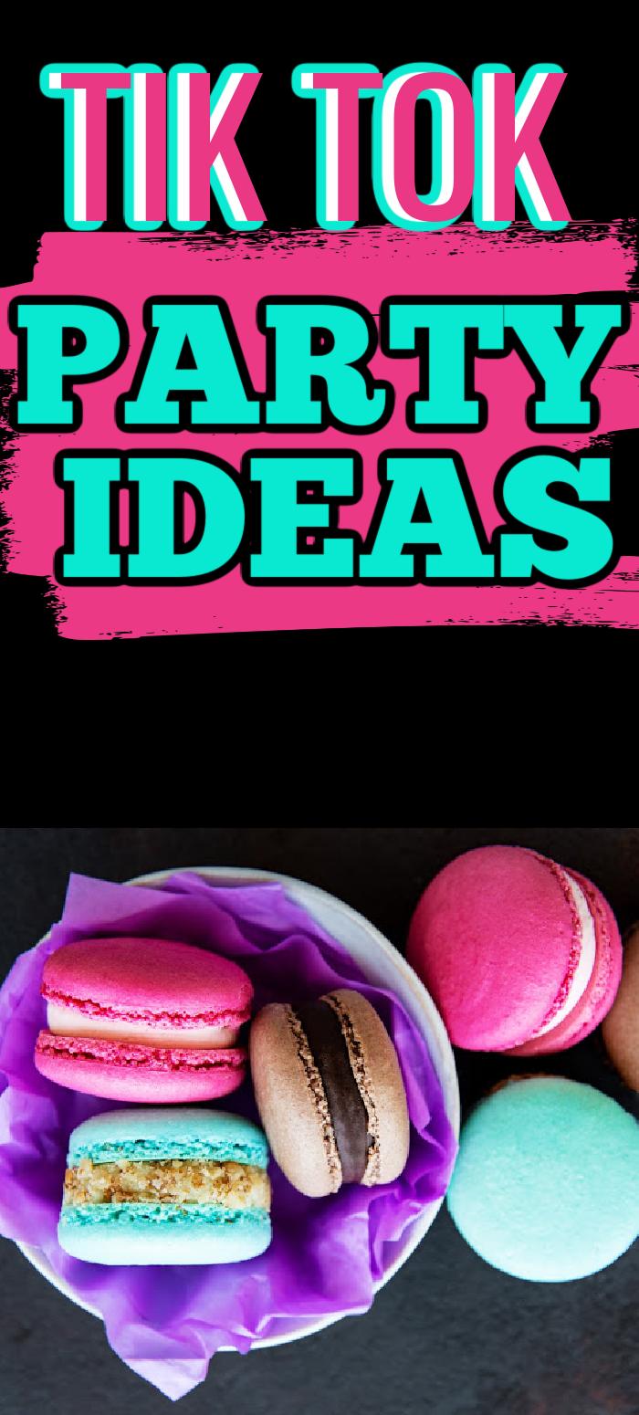 Tik Tok Party Ideas Doughnut Party 14th Birthday Cakes Happy Birthday Cake Topper