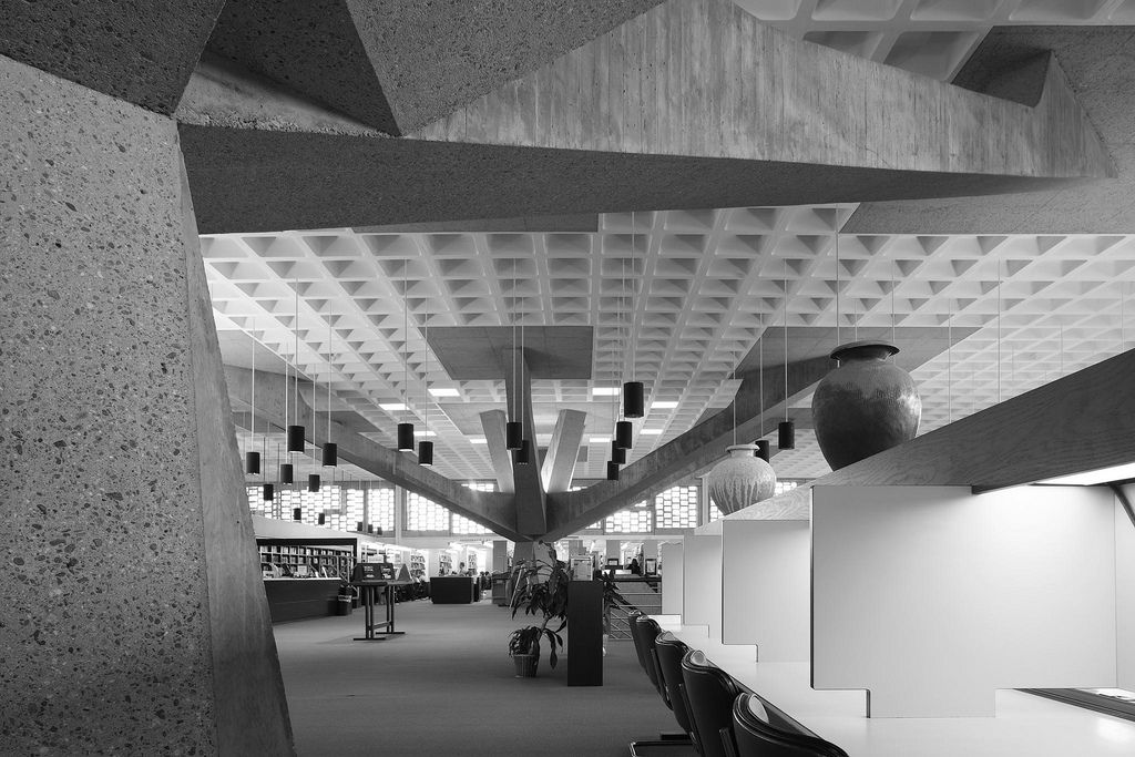 Alcuin Library at St Johnu0027s University in