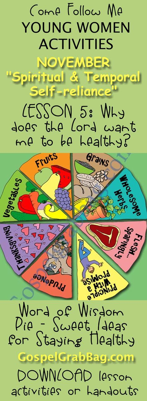 Word of Wisdom Pie - Sweet Ideas for Staying Healthy (Word ...