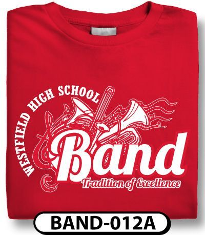 Design Custom Marching Band T Shirts Online By Spiritwear