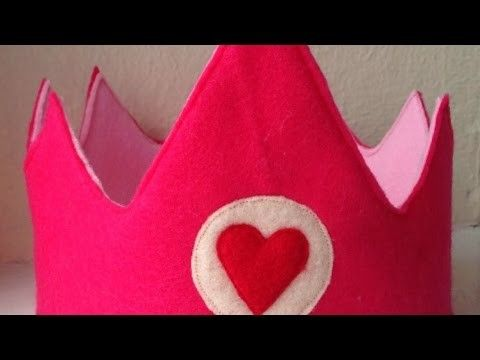 Make a Cute Valentine-Themed Crown - DIY Style - Guidecentral