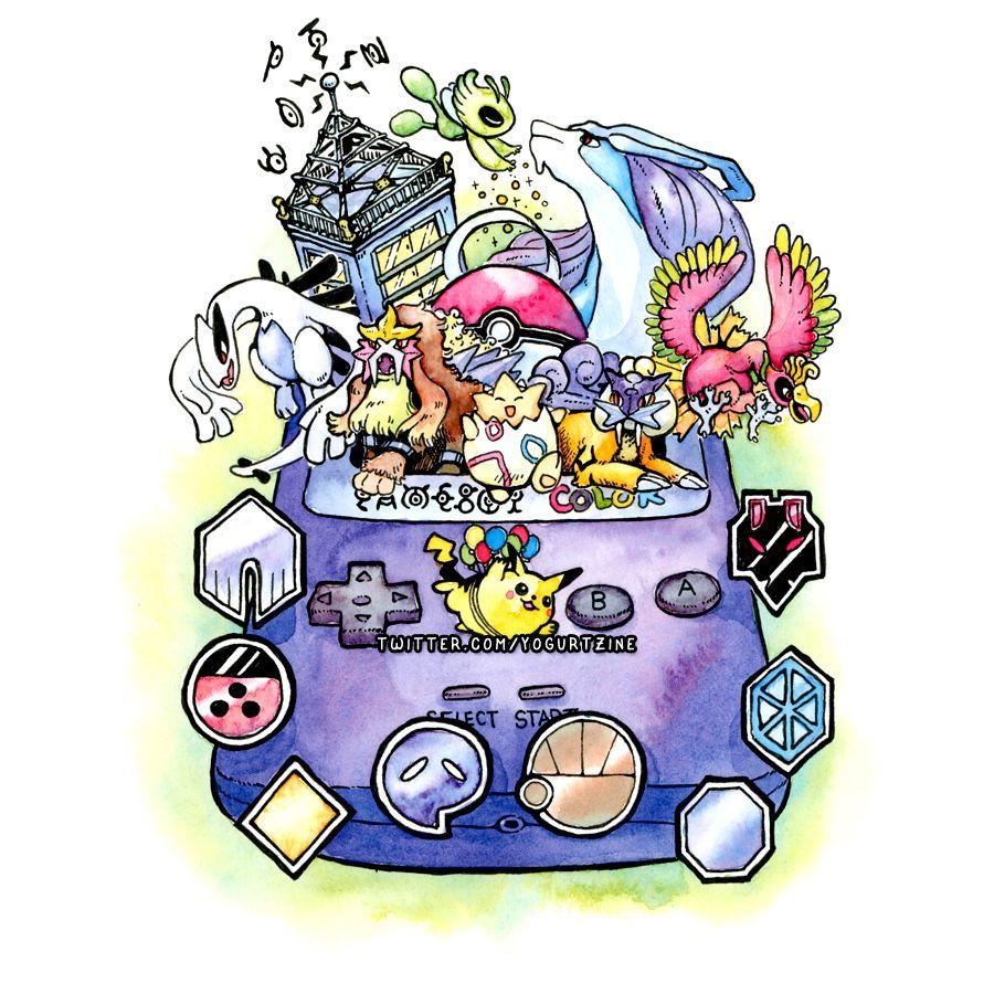 My Pokemon G/S Illustration!! Pokemon, My pokemon
