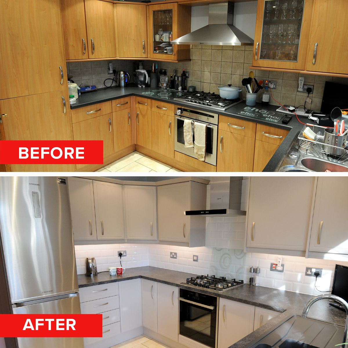 Pin On Kitchen Before And Afters