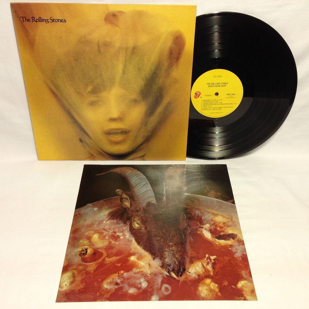 Details About Rolling Stones Goat S Head Soup Vinyl Lp