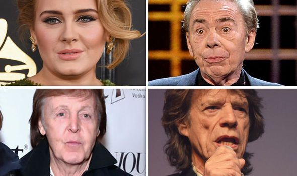 Rich List 2017: Wealthiest musicians in the UK REVEALED  whos Number 1?