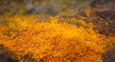 """""""Turmeric: anti-inflammatory, antiseptic... increases liver enzymes that detox.  Love love this herb.  I take it to boost immunity, reduce sore throats, eliminate aches/pains... replaces asprin/motrin/naproxin"""""""