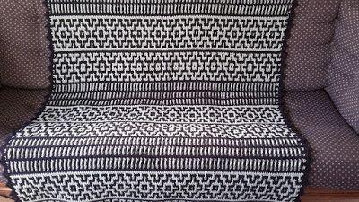 Tweede Deken Mozaïek Haken Mosaic Crochet Haken Pinterest