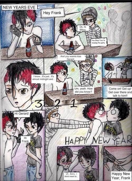 My Chemical Romance ~ Oh, Mikey! This is probably one of the cutest things I've ever seen!!❤️