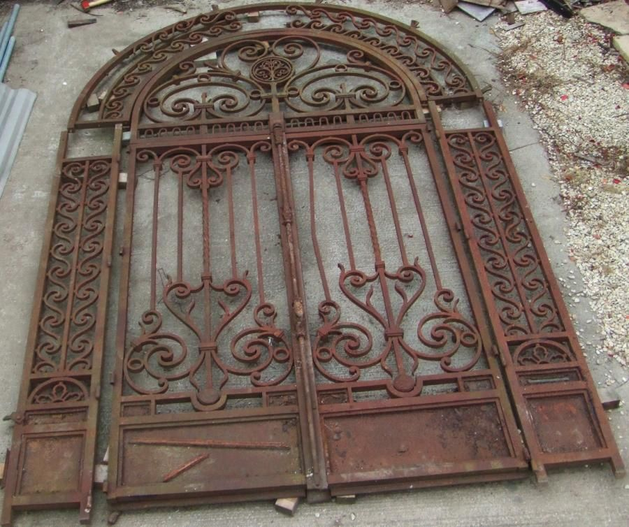 Spanish Garden Gates French Iron Gates Wrought Iron
