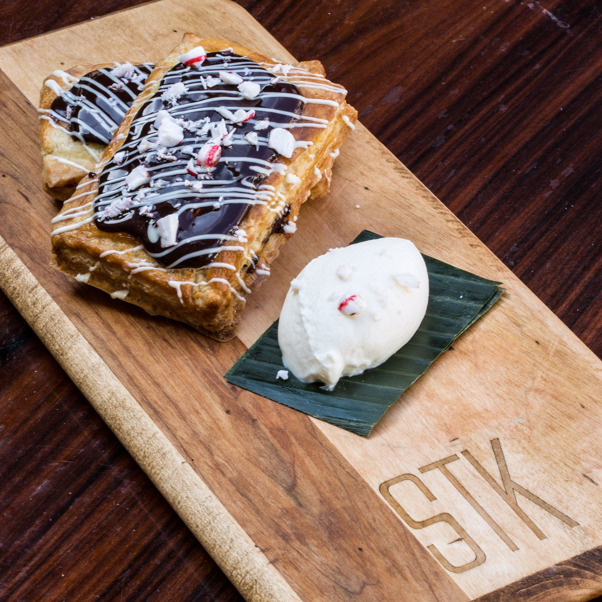 'Tis the season of alcohol-filled delights. - grown up pop tart at STK