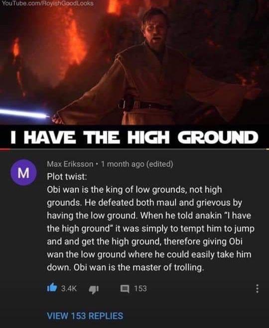 The Star Wars Underworld Blm On Twitter Obi Wan Star Wars Humor Star Wars