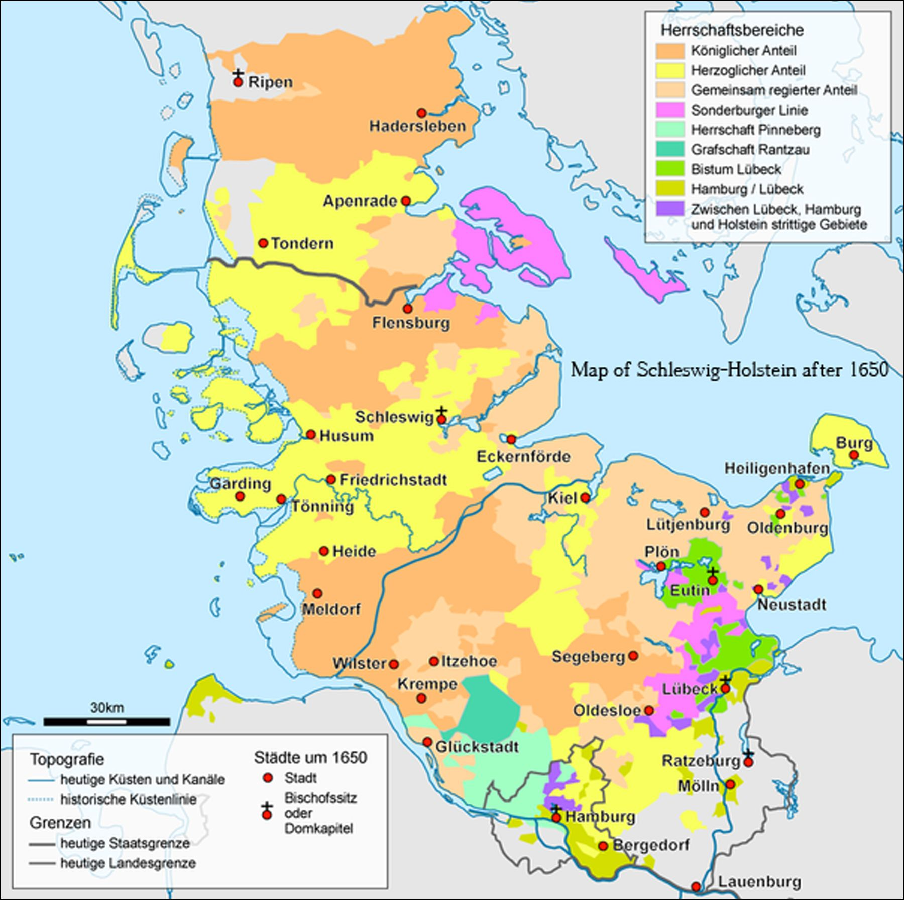 1650 Schleswig Holstein | Germany map, Map, Schleswig holstein