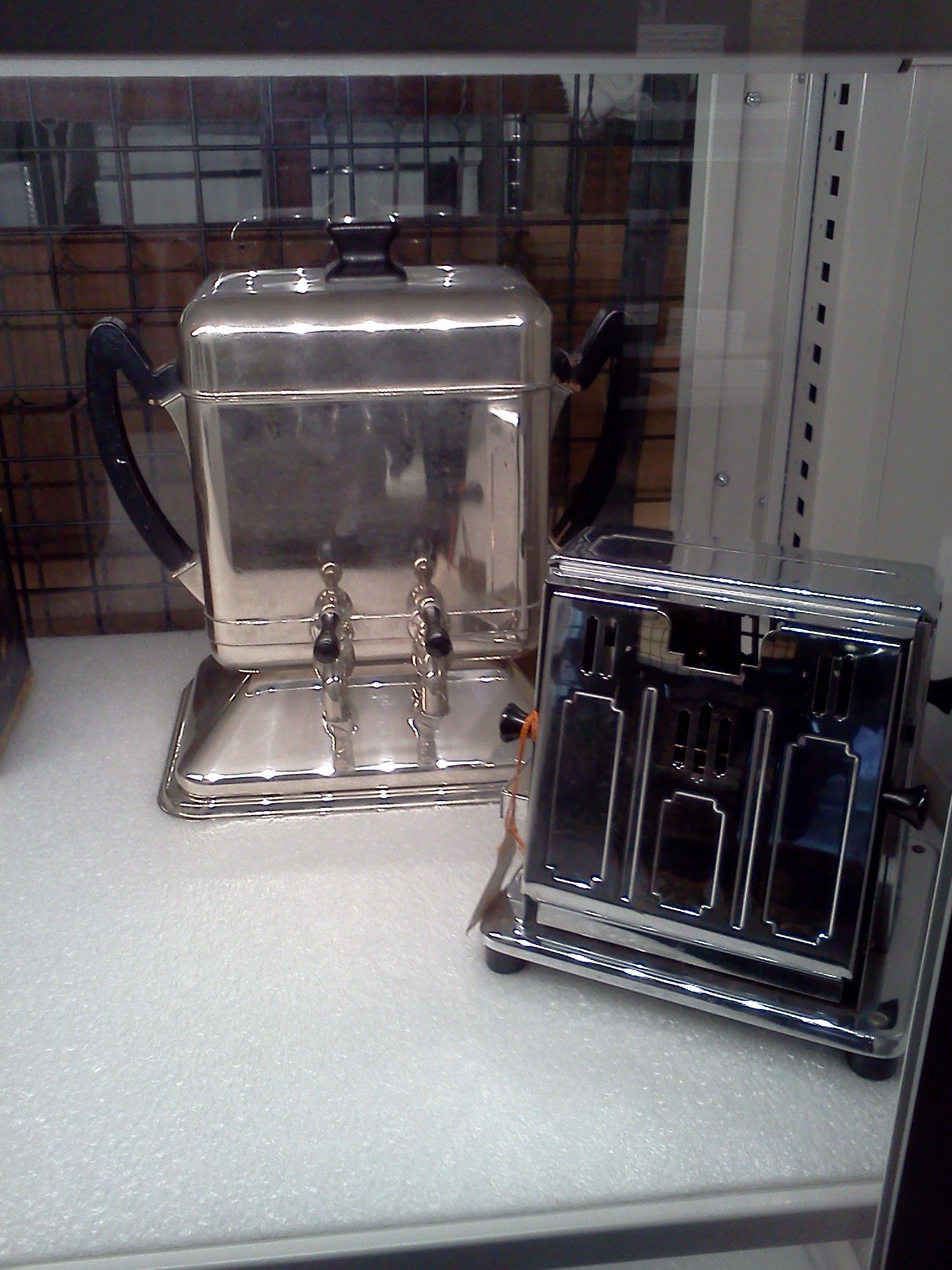 Edicraft appliances-a coffee-maker and a toaster. Thomas Alva Edison Pinterest Coffee maker