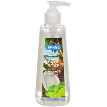 Bulk Lucky Super Soft Coconut And Citrus Hand Soap 14 Oz At