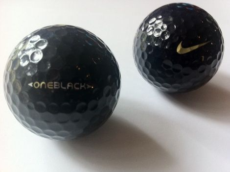 Pagar tributo oscuro Flecha  Nike (BOB) Black one black golf ball. A very collectible and rare golf ball.  New / Mint. Only 3000 Nike BOB's were made and is now becomi…   Golf ball,  Golf, Ball