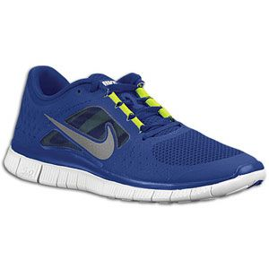 purchase cheap ae384 05611 Nike Free Run + 3 - Mens - Running - Shoes - Light MidnightTotal