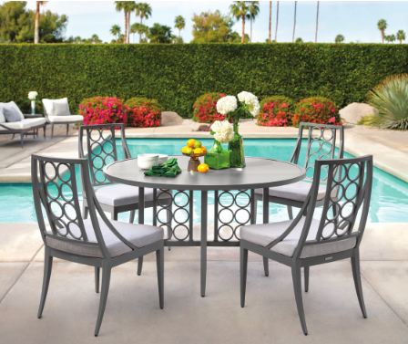 Brown Jordan outdoor furniture at @ernestgaspard, ADAC ... on Fine Living Patio Set id=95602