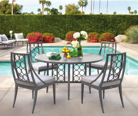 Brown Jordan outdoor furniture at @ernestgaspard, ADAC ... on Fine Living Patio Set id=34898