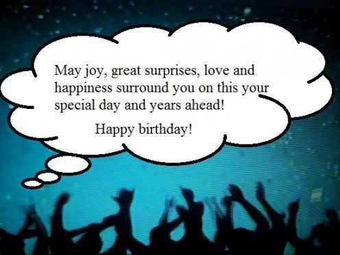 Happy Birthday Wishes Year Ahead ~ How to write a birthday message to an older person you admire