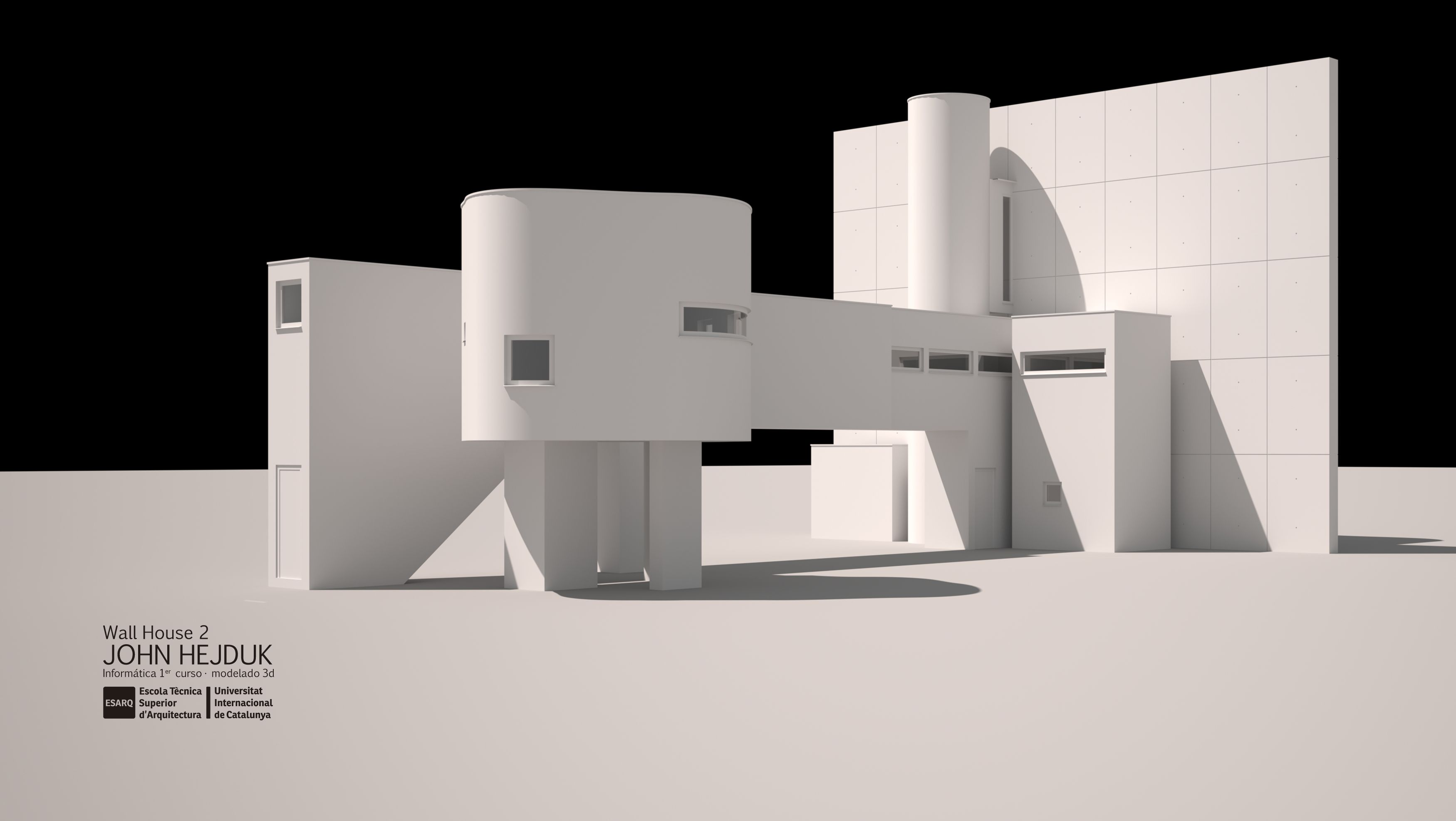 Wall House 2 : John Hejduk | Official blog of ESARQ-UIC Barcelona School of