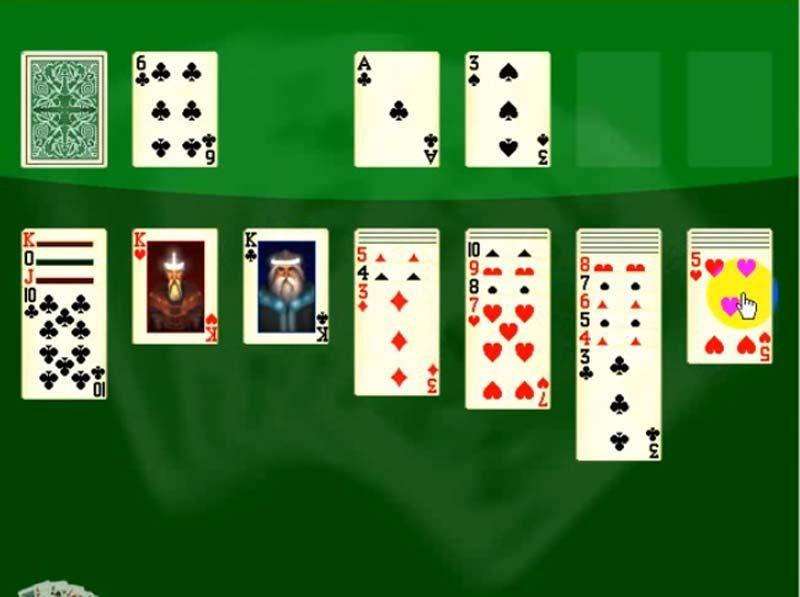 косынка 1 карты играть бесплатно