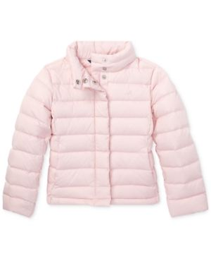 7f3c02986 Polo Ralph Lauren Toddler Girls Lightweight Down Jacket - Hint Of ...