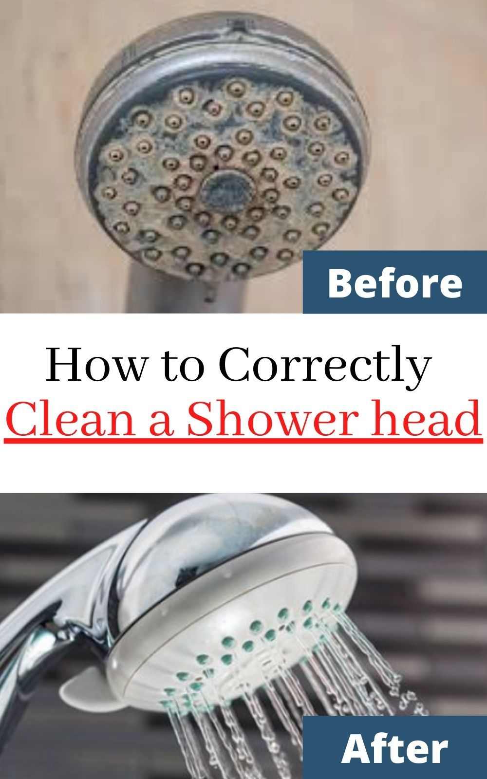 Clean Shower Head With Simple Tips And Tricks Shower Head With Hose Shower Cleaner Cleaning Shower Head