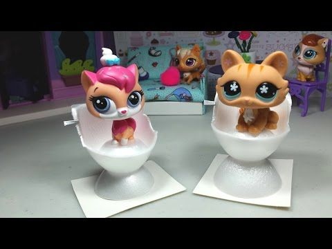Easy DIY Custom LPS Doll Accessories: How to Make a Tiny Toilet ♦ Dollhouse Furniture - YouTube