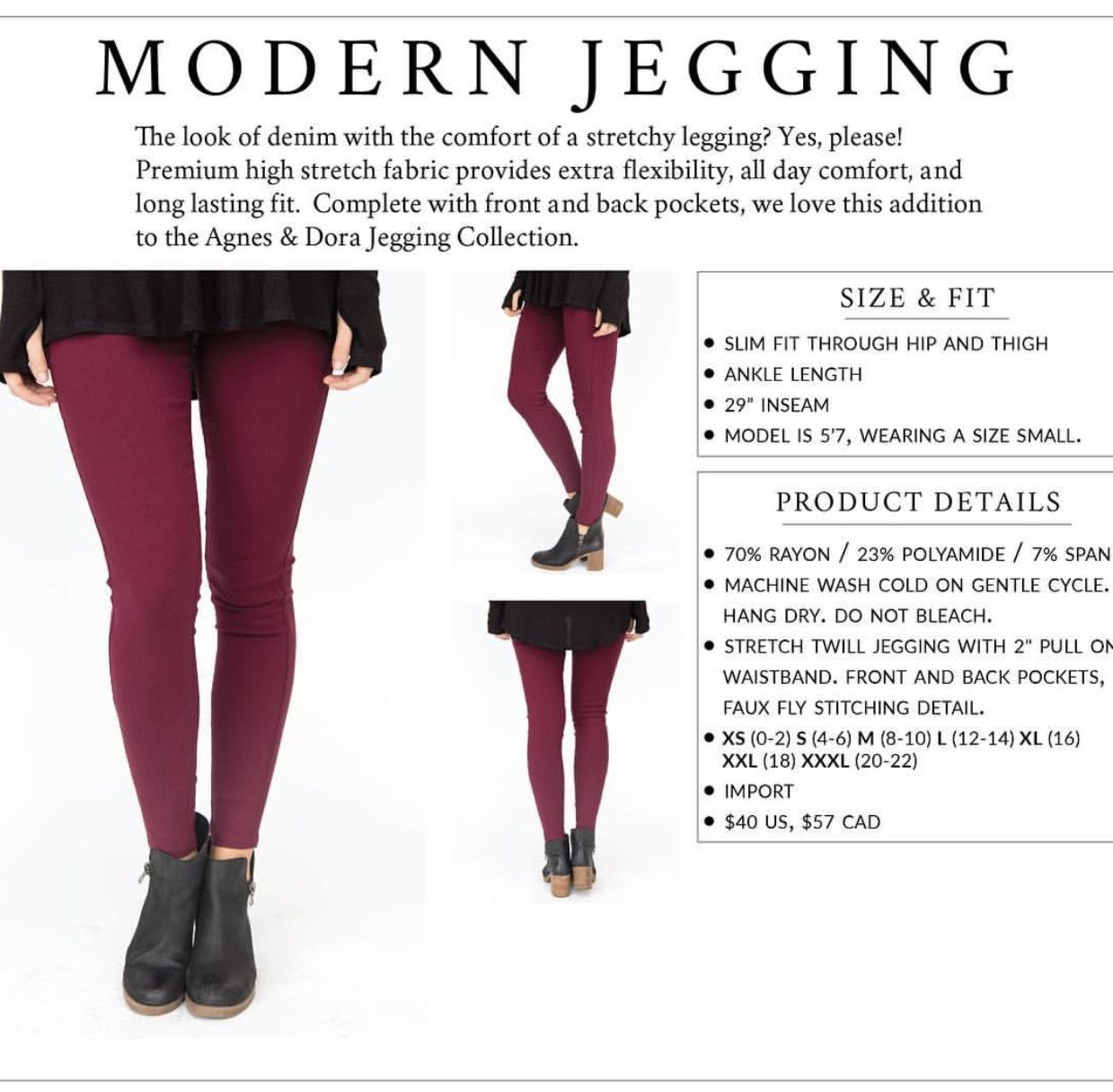 b09a211495e62 Agnes and Dora Modern Jeggings...yes please!! www.barnlifeboutique.com.  Find this Pin and more on ...