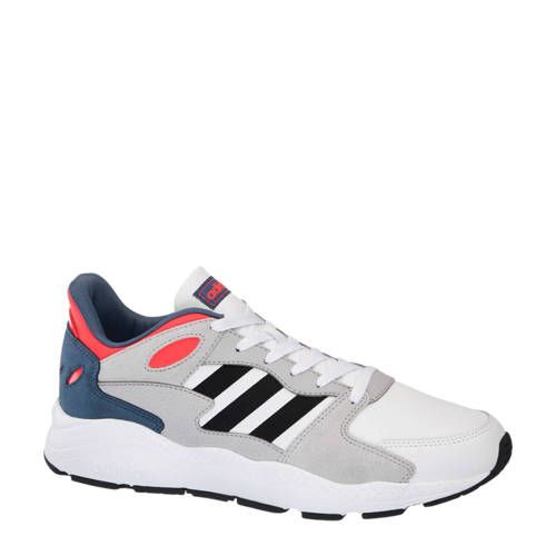 Chaos sneakers grijs/wit/rood - Adidas, Rode sneakers en ...